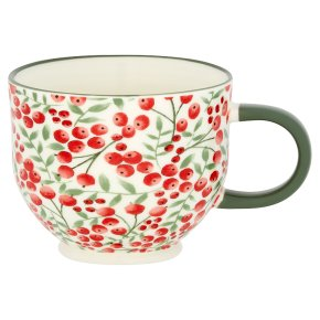 Waitrose Floral Footed Berry Mug
