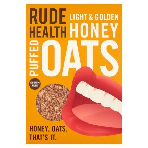 Rude Health Honey Puffed Oats