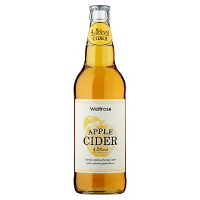 Waitrose Apple Cider Herefordshire