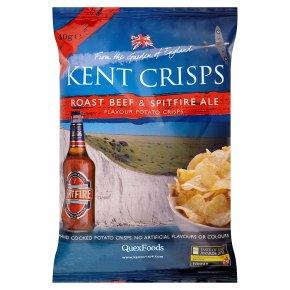 Kent crisps roast beef & spitfire