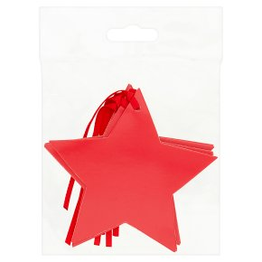 Waitrose Red Star Tags 5s