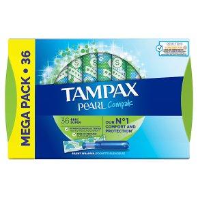Tampax Compak Pearl Super