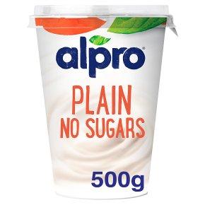 Alpro Plain Unsweetened No Sugars