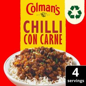 Colman's chilli con carne recipe mix