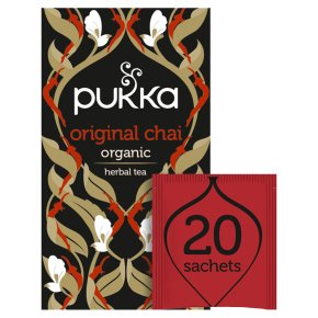 Pukka Lean Matcha Green 20Herbal Tea Sachets