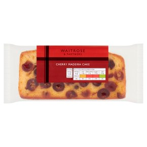 Waitrose Cherry Madeira Cake