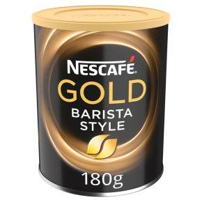 nescafe gold blend barista style instant coffee 180g waitrose