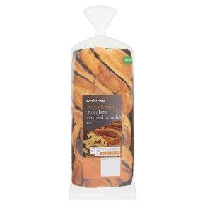 Waitrose Chocolate Marbled Brioche Loaf