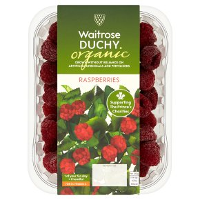 Waitrose Duchy English Raspberries