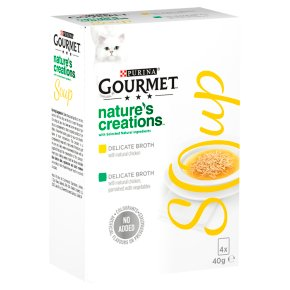 Gourmet Soup Cat Food With Chicken and Veg