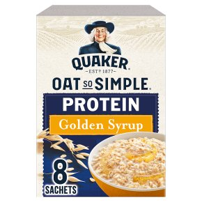 Quaker Oat So Simple Protein Golden Syrup