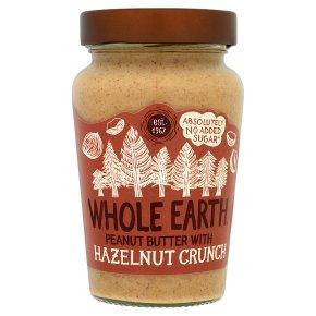 Whole Earth Peanut Butter with Hazelnut Crunch