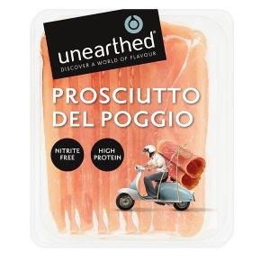 Unearthed Italian prosciutto del poggio, 6 slices