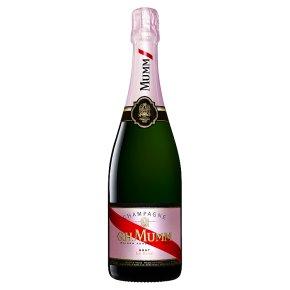 G.H.Mumm Cordon Rouge Brut NV, French, Rosé Champagne