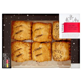 Waitrose 1 Sausage Roll Collection 6s