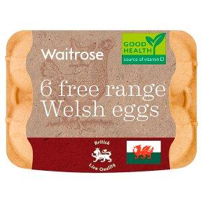 Waitrose British Blacktail mixed weight Welsh free range eggs