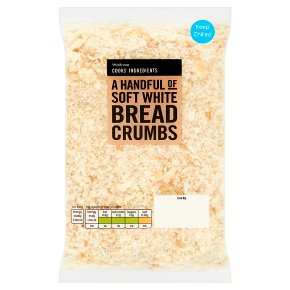 Waitrose Cooks' Ingredients soft white bread crumbs