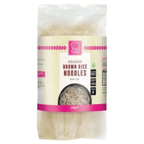 Thai Taste Brown Folded Noodles