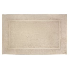 Waitrose Egyptian cotton bath mat flint