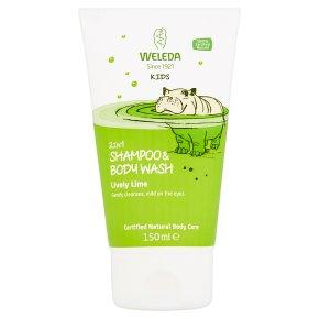Weleda Kids 2 in 1 Shampoo Lime