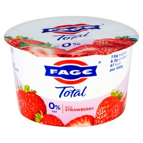 FAGE Total 0% Fat Free Yoghurt with Strawberry