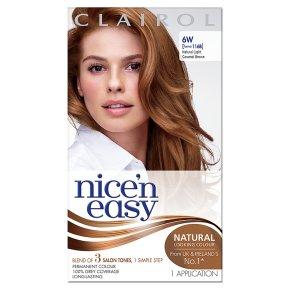 Nice n Easy Natural Light Caramel Brown 116B Hair Colour