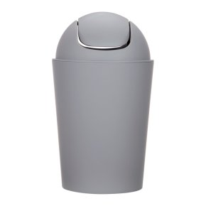 John Lewis House Steel Flip Top Bin