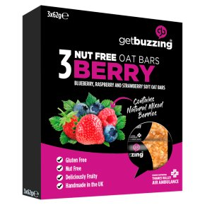 Get Buzzing 3 Nut Free Berry Bars