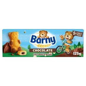 Barny chocolate sponge bear biscuits