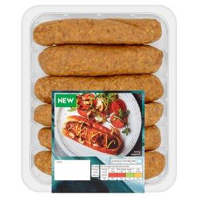 Waitrose 6 Triple Oak Smoked Sausages
