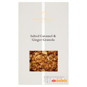 Waitrose 1 salted caramel & ginger granola
