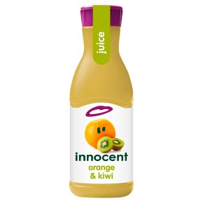 innocent orange & kiwi juice