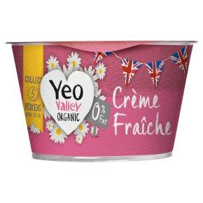 Yeo Valley crème fraîche 0% fat