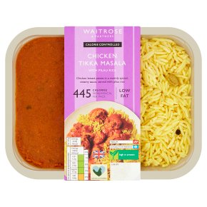 Waitrose LoveLife Calorie Controlled chicken tikka masala with pilau rice