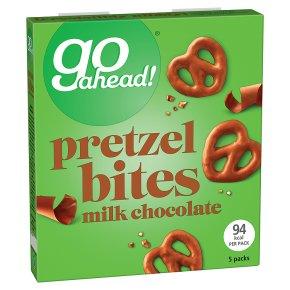 Go Ahead! Pretzel Bites Milk Chocolate