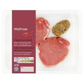 Waitrose 2 Dry Cured Pork Loin Medallions