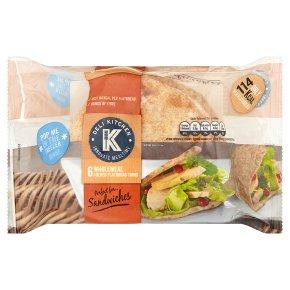Deli Kitchen Wholemeal Flatbread Thins