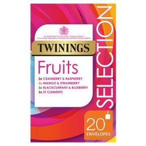 Twinings fruit selection 20 tea bags