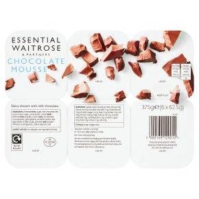 essential Waitrose chocolate mousse