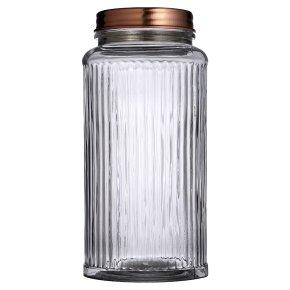 Waitrose Copper Lid Jar Large