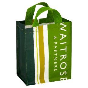 Waitrose Stripe 6 Bottle Bag