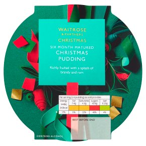 Waitrose Christmas Pudding