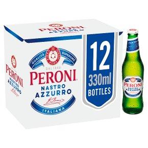 Peroni Nastro Azzurro 12 x 330ml Bottles
