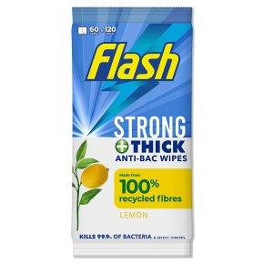 Flash Anti-Bacterial Wipes