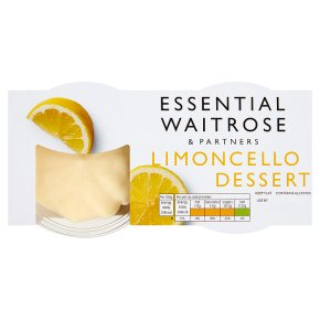 essential Waitrose limoncello dessert