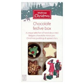 Waitrose 8 Christmas Chocolates