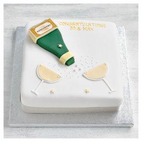Fiona Cairns Golden Sponge Champagne Cake