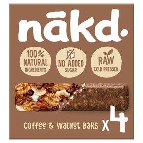 Nakd Coffee & Walnut Wholefood Bars