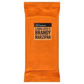 Waitrose Cooks' Ingredients brandy marzipan