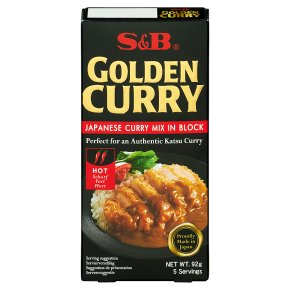 S&B Golden Curry Sauce Hot